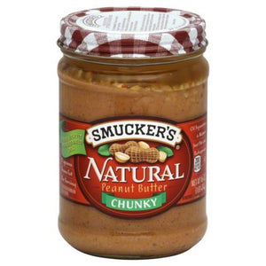 Smuckers Natural Peanut Butter 16 Oz (Pack of 4) - Buy Fast delivery