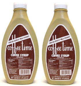 Coffee Time Coffee Syrup 16oz - 2 Pack - Buy Fast delivery