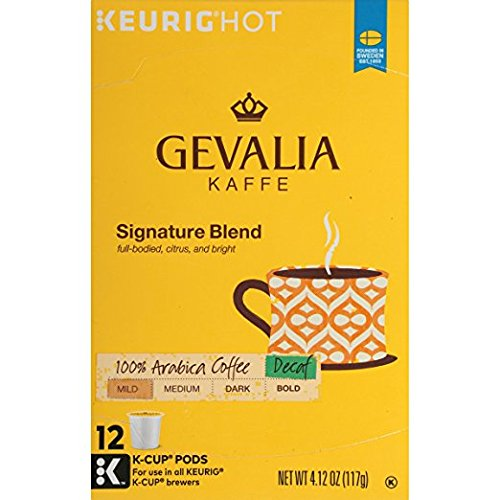 Gevalia Kaffe 2-Step K-Cup Froth Packet Coffees Pack of 3 6 Count Boxes - Buy Fast delivery