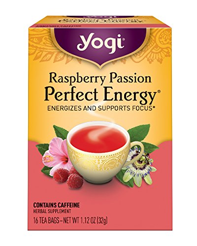 Yogi Raspberry Passion Perfect Energy, 1.12 Ounce Package - Buy Fast delivery