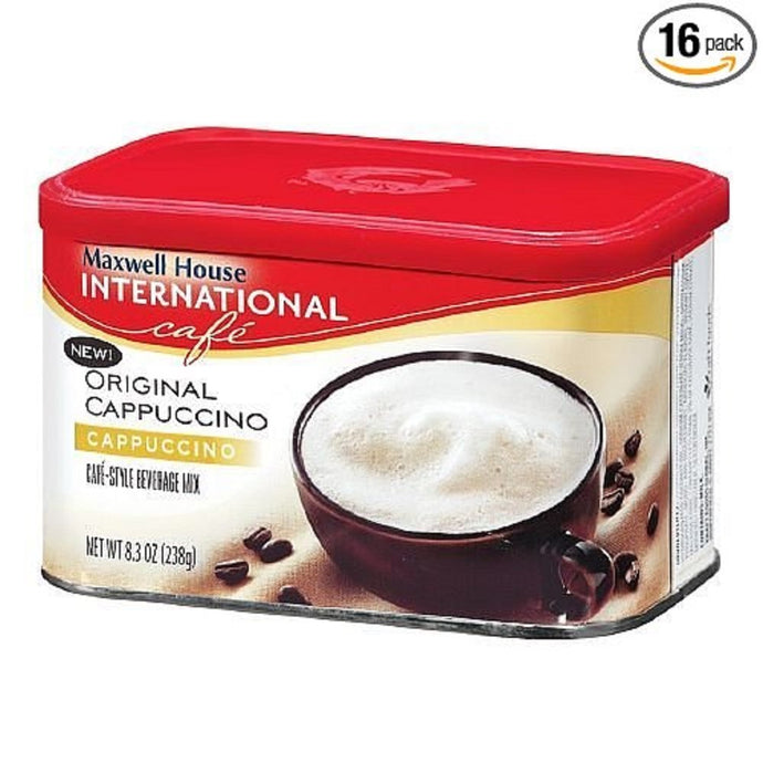 Maxwell House International Cappuccino Original Cappuccino 8.3oz. (16 pack) - Buy Fast delivery