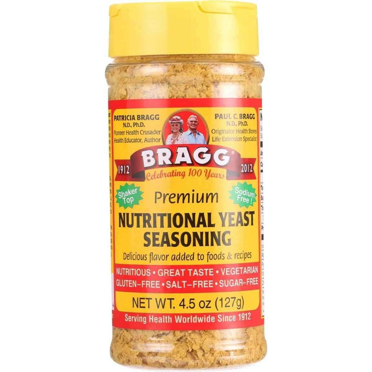 Bragg Seasoning Nutritional Yeast, Pack of 12 - Buy Fast delivery