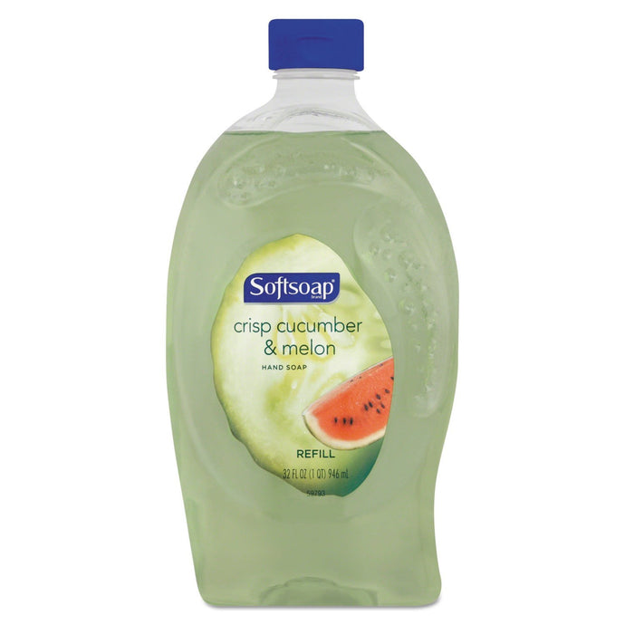 Softsoap Crisp Cucumber & Melon Liquid Hand Soap Refill 32 Ounce - Buy Fast delivery