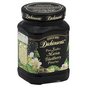 Dickinson's Pure Seedless Marion Blackberry Preserves --  One 10 oz Jar - Buy Fast delivery