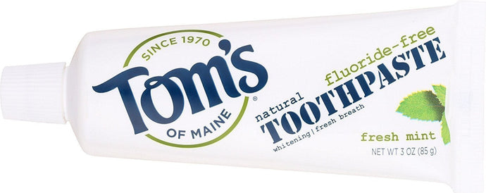 Tom's Of Maine Fluoride-Free Natural Toothpaste Fresh Mint Travel Size 3 oz. - Buy Fast delivery