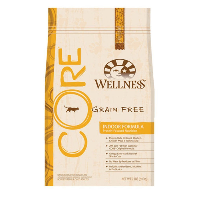 Wellness CORE Grain Free Indoor Dry Cat Food, Wellness - Net Wt. 2 LBS - Buy Fast delivery