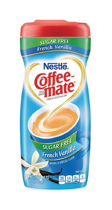Coffee-Mate Sugar Free Powder, French Vanilla, 10.2 oz - Buy Fast delivery