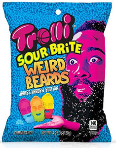 trolli sour brite gummy rocks candy