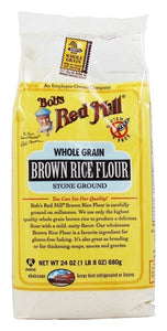 Bob's Red Mill - Gluten Free Whole Grain Brown Rice Flour - 24 oz (pack of 2) - Buy Fast delivery