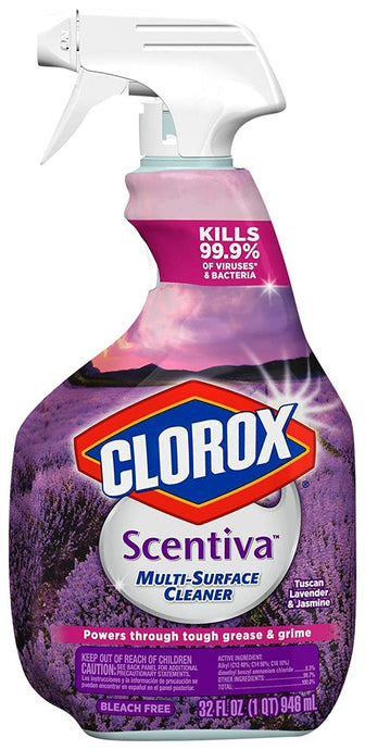 Clorox Scentiva Multi-Surface Cleaner, Tuscan Lavender, 32 Ounce - Buy Fast delivery
