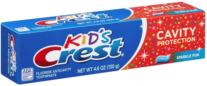 Crest Toothpaste Kids' Cavity Protection, Sparkle Fun Flavor 4.60 oz - Buy Fast delivery