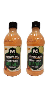 Moore Sauce Buffalo Wing Ranch, Pack of 2 - Buy Fast delivery