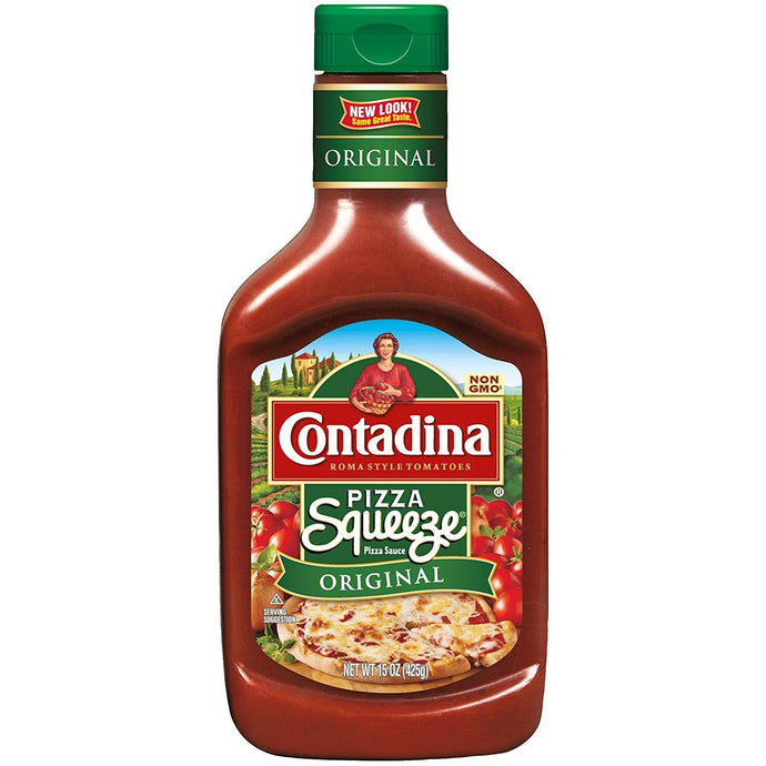 Contadina Squeeze Pizza Sauce, 15 oz (Pack of 2) - Buy Fast delivery