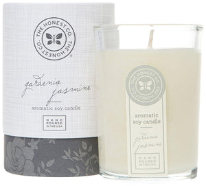 Honest Aromatic Soy Candle, Gardenia Jasmine, 8 Ounce - Buy Fast delivery