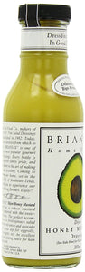 Brianna's Honey Mustard Dijon Dressing, 12-Ounce Bottles (Pack of 6) - Buy Fast delivery