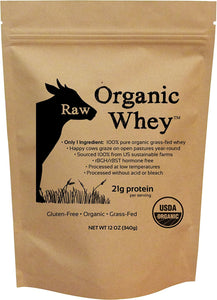 Raw Organic Whey - USDA Certified Organic Whey Protein Powder, Happy Healthy Cows, COLD PROCESSED Undenatured 100% Grass Fed Organic Whey Protein Powder, NON-GMO - Buy Fast delivery
