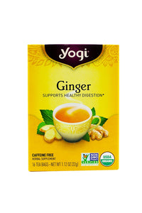 Yogi Tea Ginger, Herbal Supplement, Tea Bags, 16 ct - Buy Fast delivery