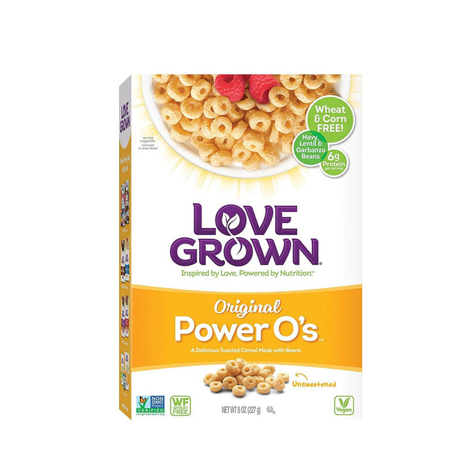 Love Grown Cereal Power O's Original 8 Ounce (Pack of 6) - Buy Fast delivery