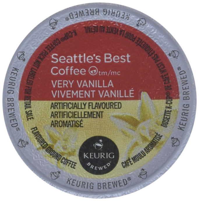 Seattle's Best, Single Serve K-Cup Coffee, 3.5oz Box (Pack of 3) (Choose Flavors Below) - Buy Fast delivery