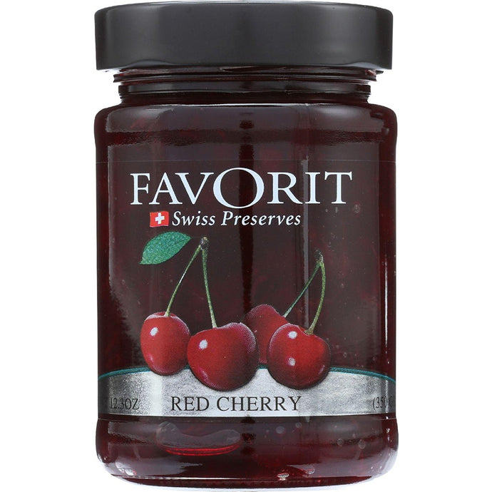Favorit Preserve Red Cherry, 12.3 oz - Buy Fast delivery