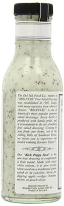Brianna's Poppy Seed Dressing, 12-Ounce Bottles (Pack of 6) - Buy Fast delivery