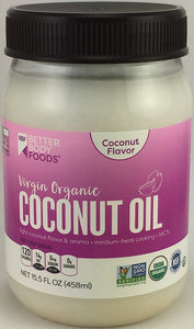 BetterBody Foods - Organic Virgin Coconut Oil - Buy Fast delivery