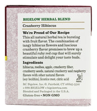 Bigelow Cranberry Hibiscus Herb Tea Bags - 20 ct - 1 Pack - Buy Fast delivery