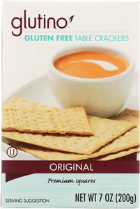 Glutino Table Crackers 7-ounce Boxes (Pack of 12) - Buy Fast delivery