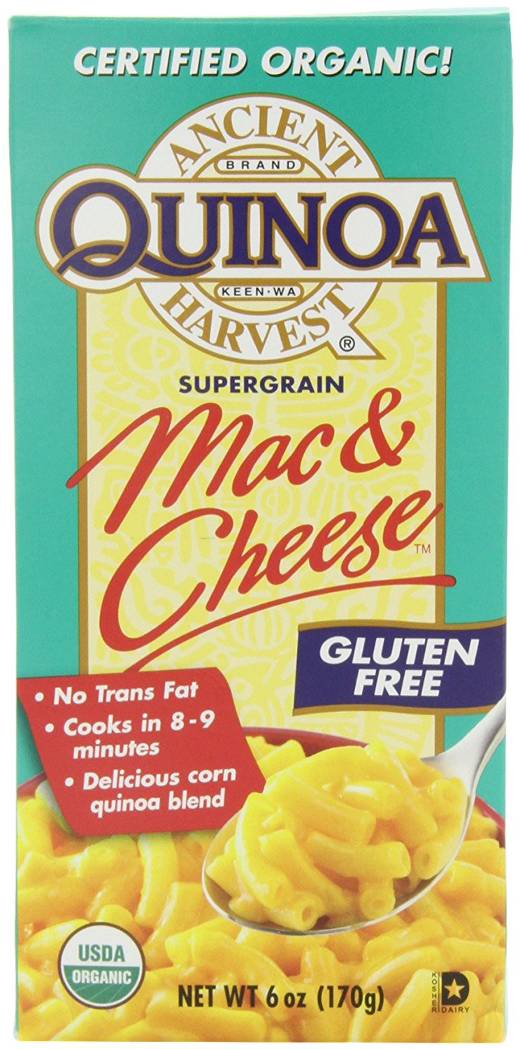 Ancient Harvest Quinoa Mac and Cheese, 6-Ounce (Pack of 6) - Buy Fast delivery