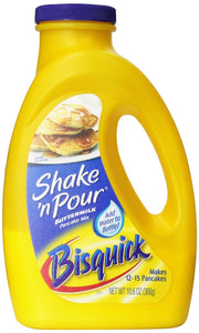 Bisquick Shake 'n Pour Buttermilk Pancake Mix (Pack of 3) 10.6 oz Bottles - Buy Fast delivery