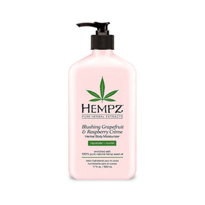 Hempz Herbal Body Moisturizer, Light Pink, Blushing Grapefruit/Raspberry Creme - Buy Fast delivery