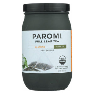 Paromi Jasmine Full Leaf Green Tea - 15 Tea Bags - Buy Fast delivery