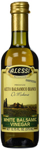 Alessi Vinegar, White Balsamic, 12.75-Ounce (Pack of 6) - Buy Fast delivery