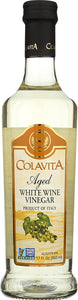 Colavita Aged White Wine Vinegar - Choice of 3 Variations - Buy Fast delivery