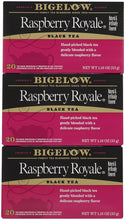 Bigelow Raspberry Royale Tea Bags - 20 ct - 3 Pack - Buy Fast delivery