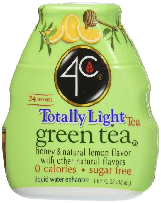 4c Totally Light Green Tea Liquid Water Enhancer (4 Count) - Buy Fast delivery