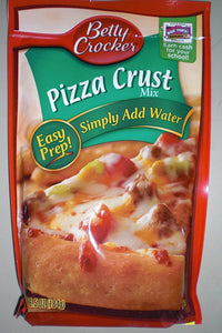 Betty Crocker Pizza Crust Mix, 6.5 - ounce Pouches (Pack of 6) - Buy Fast delivery