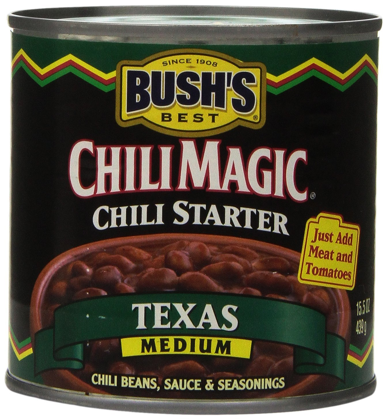 Bush's Best Chili Beans Texas Medium Chili Starter (Case of 12) - Buy Fast delivery