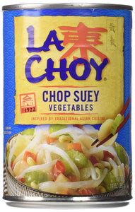La Choy CHOP SUEY VEGETABLES Asian Cuisine 14oz (2 pack) - Buy Fast delivery