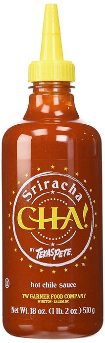 Texas Pete Sriracha Cha! Hot Chile Sauce, 18 oz - Buy Fast delivery