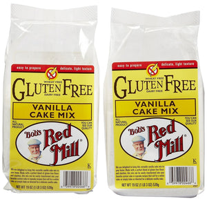 Bob's Red Mill Gluten Free Vanilla Cake Mix, 19 oz, 2 pk - Buy Fast delivery