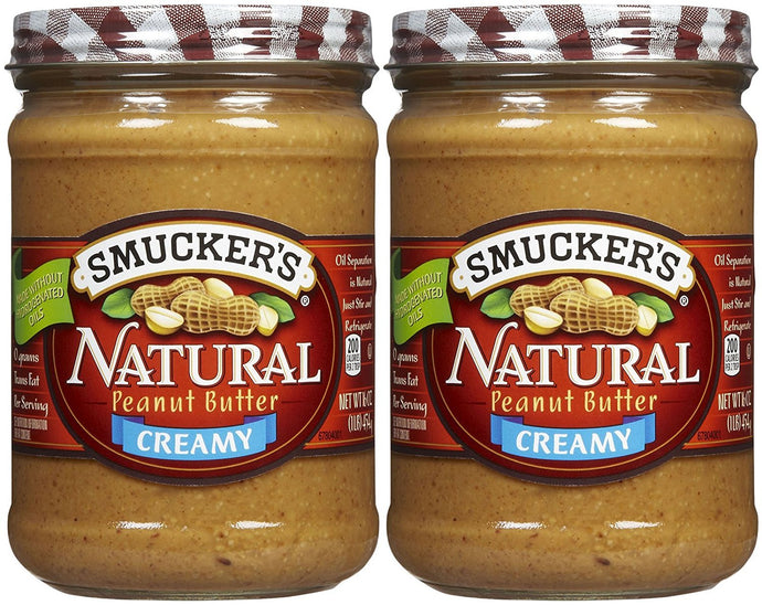 Smucker's Creamy Natural Peanut Butter - 16 oz - 2 pk - Buy Fast delivery