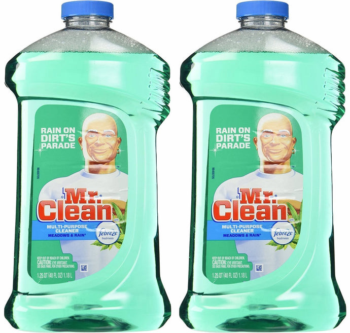 Mr. Clean with Febreze Freshness Meadows & Rain Multi-Surface Cleaner 40 oz (2 Bottles) - Buy Fast delivery