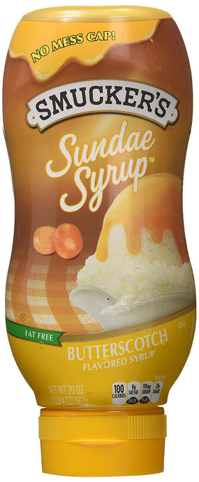 Smucker's Sundae Syrup: Butterscotch (Pack of 2) 20 oz Size - Buy Fast delivery