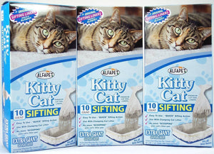 Alfa Pet Kitty Cat Pan Liners, 10 count, Pack of 3 - Buy Fast delivery