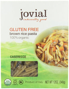 Jovial Organic Brown Rice Caserecce, 12-Ounce Packages (Pack of 6) - Buy Fast delivery