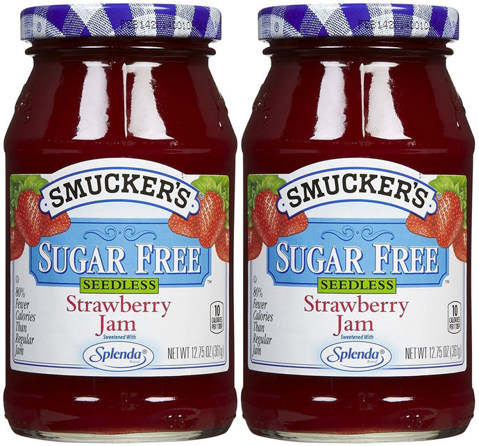 Smucker's Sugar Free Seedless Strawberry Jam, 12.75 oz, 2 pk - Buy Fast delivery