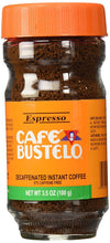 Bustelo Instant Decaf Coffee, 3.5 oz - Buy Fast delivery