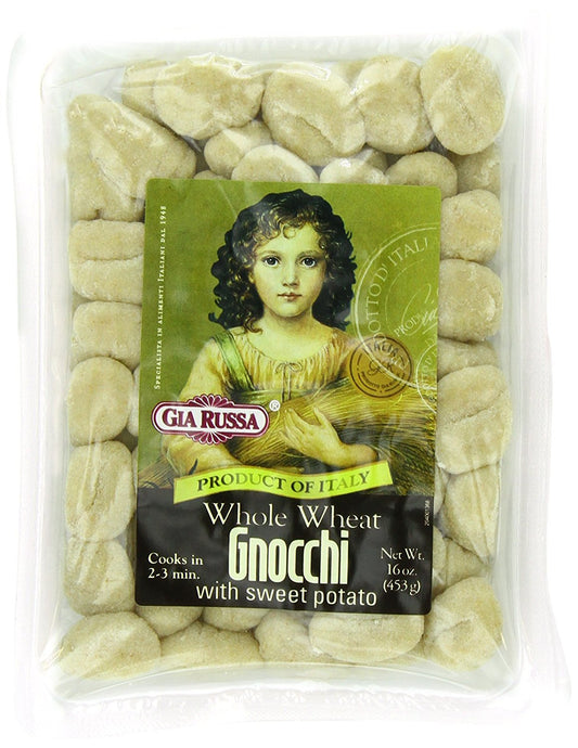 Gia Russa Whole Wheat Gnocchi with Sweet Potato, 16-Ounces (Pack of 6) - Buy Fast delivery