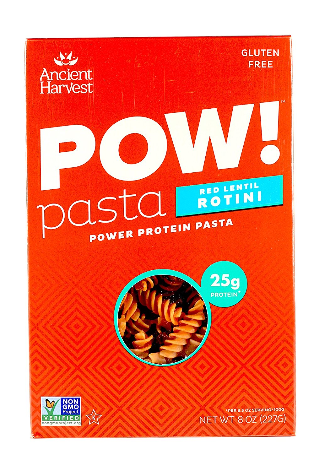 Ancient Harvest POW Pasta Red Lentil Rotini -- 8 oz - 2 pc - Buy Fast delivery